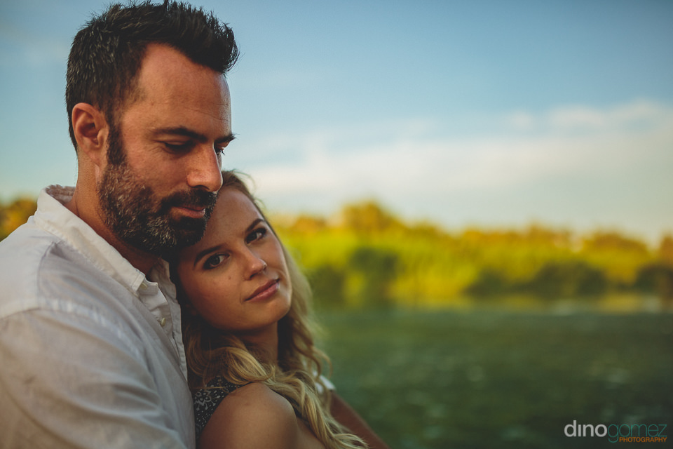 serene natural newlyweds outdoor photo session by todos santos p