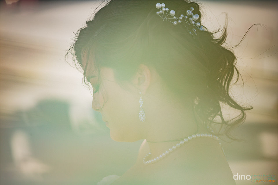 angelic wedding photo of bride by dino gomez