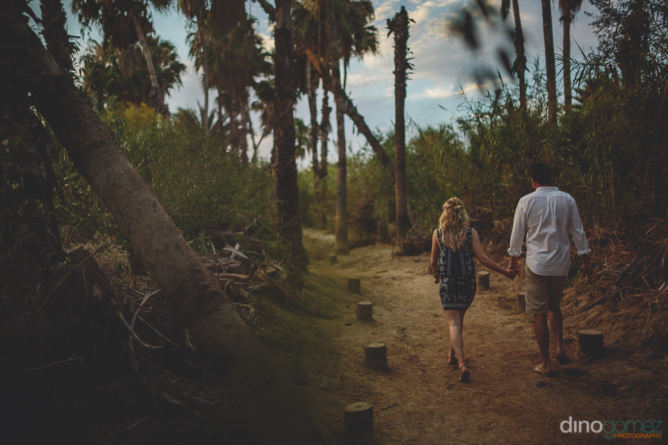 outdoor beach setting photo session by todos santos photographer