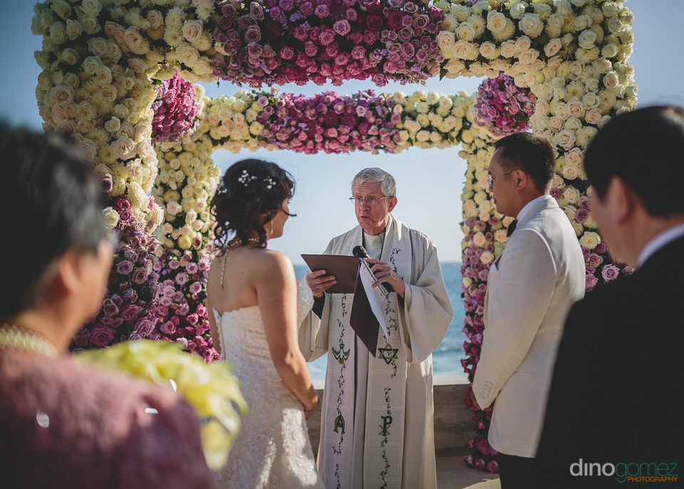 misiones beach cabo san lucas wedding ceremony