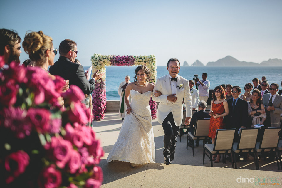 cabo san lucas wedding ceremony at the cape hotel planned by kar