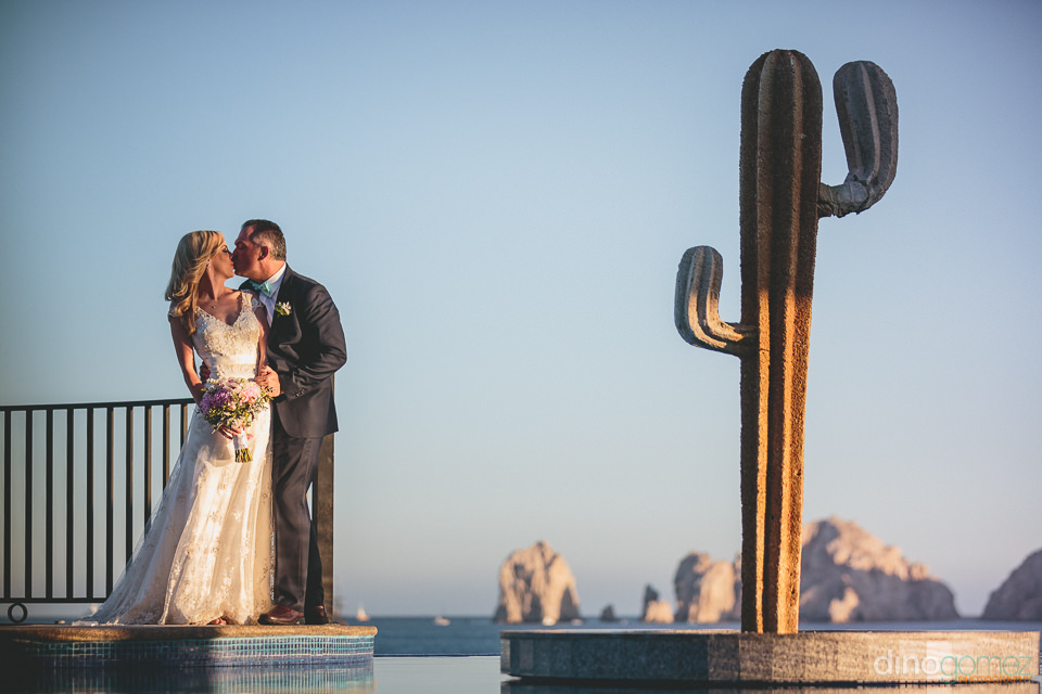 lands end cabo san lucas wedding at the riu photo by dino gomez