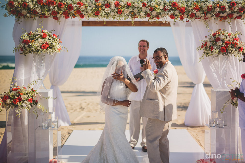 amazing floral arrangements at los cabos wedding photographed by