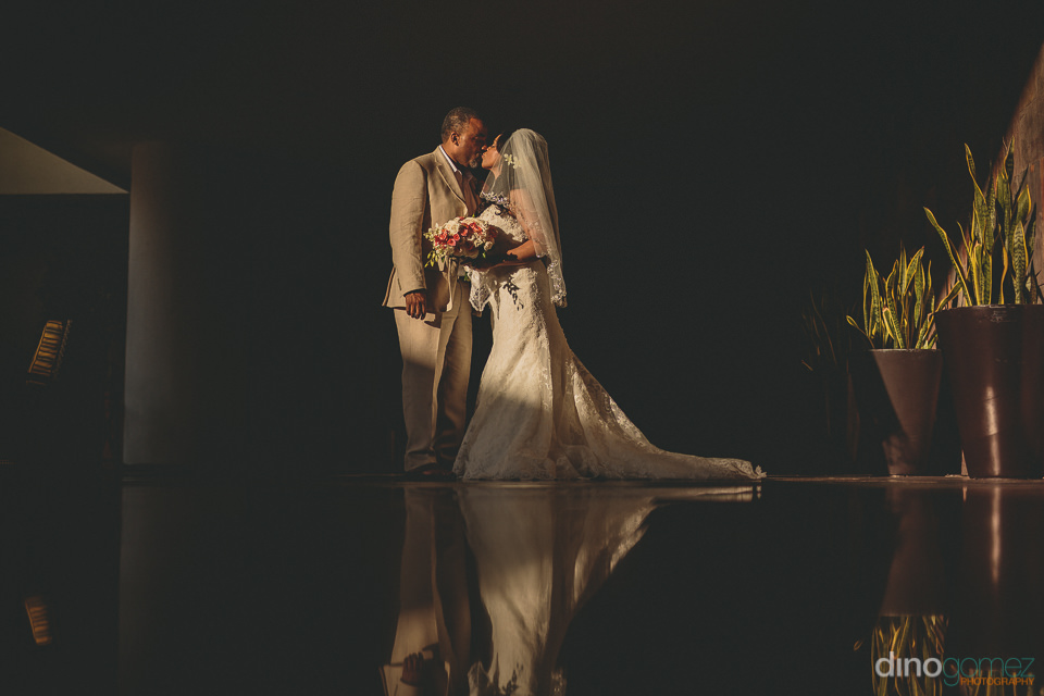 newlyweds light up room with their presence