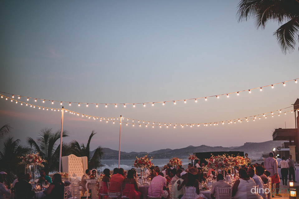 party begins at sunset wedding in san jose del cabo mexico