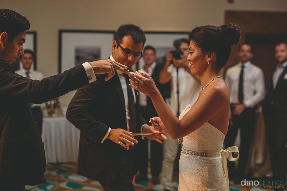 destination wedding reception at hyatt ziva los cabos
