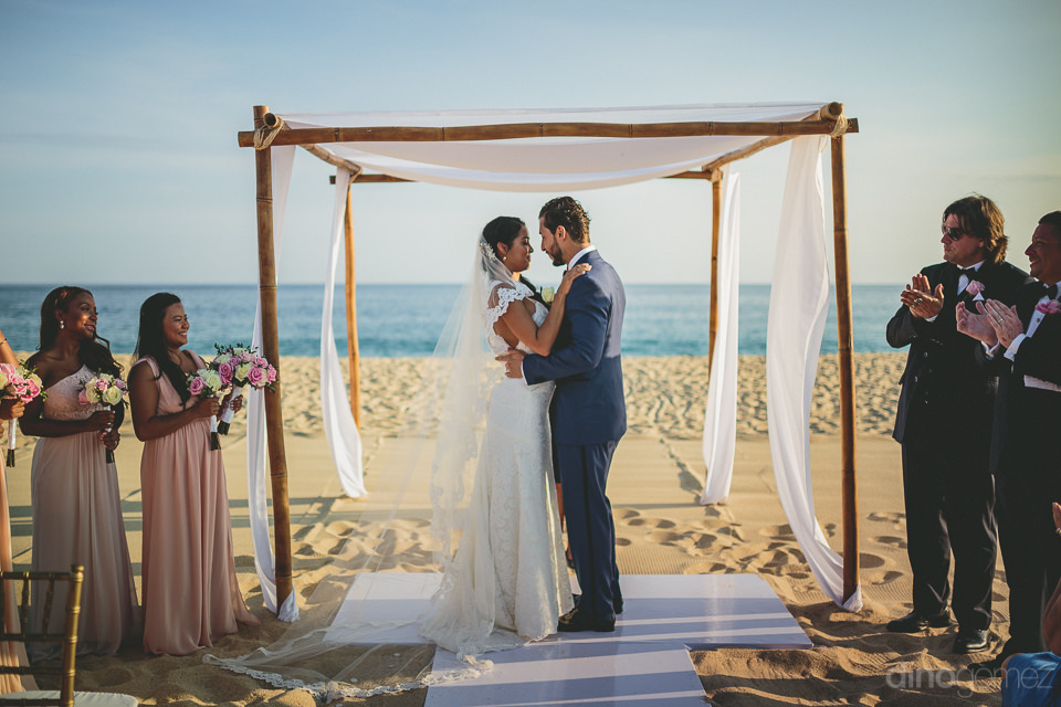 cabos best destination beach wedding photographer dino gomez at