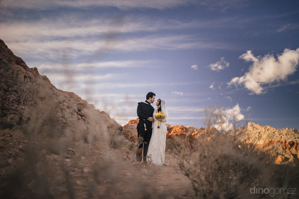 remote nevada desert wedding photo session by photographer dino