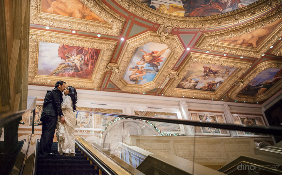 incredible painted ceilings of the venetian hotel photographed b