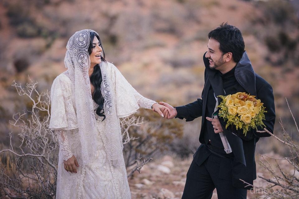 unforgettable las vegas star wars theme destination wedding with