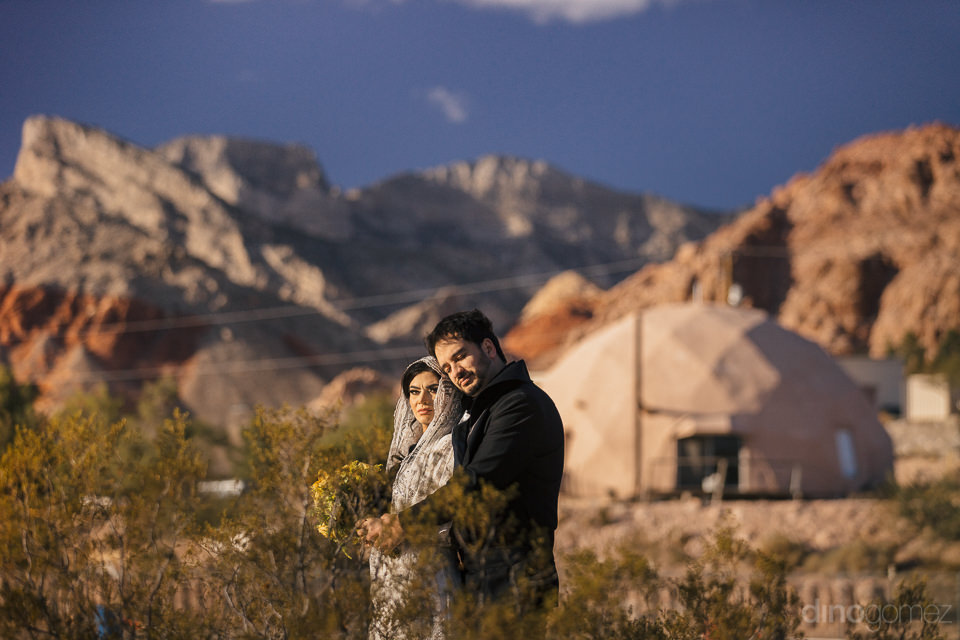 one of a kind photo session of newlyweds dressed as star wars ch