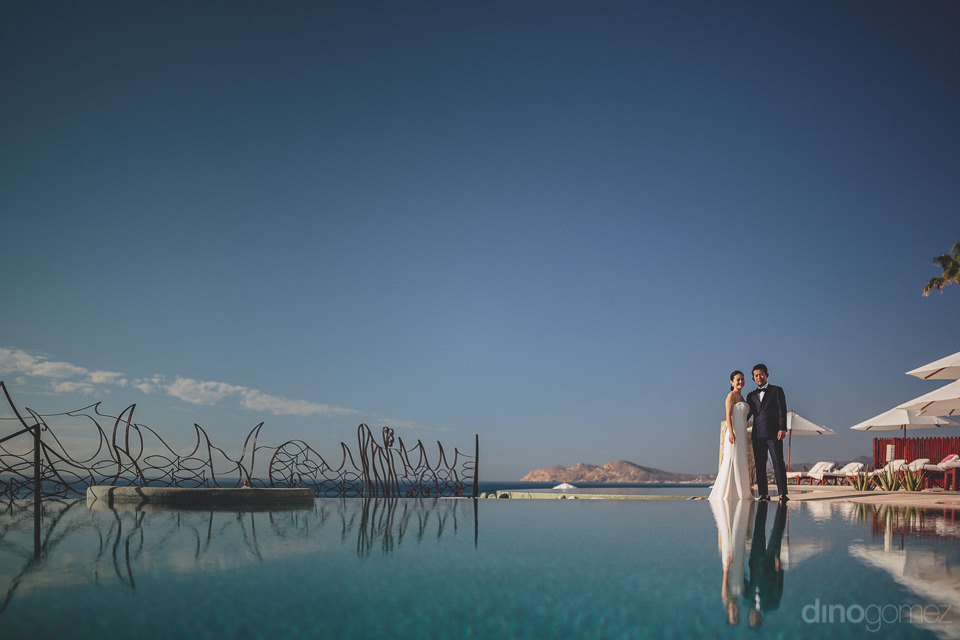 luxury wedding photography session at las ventanas resort by din