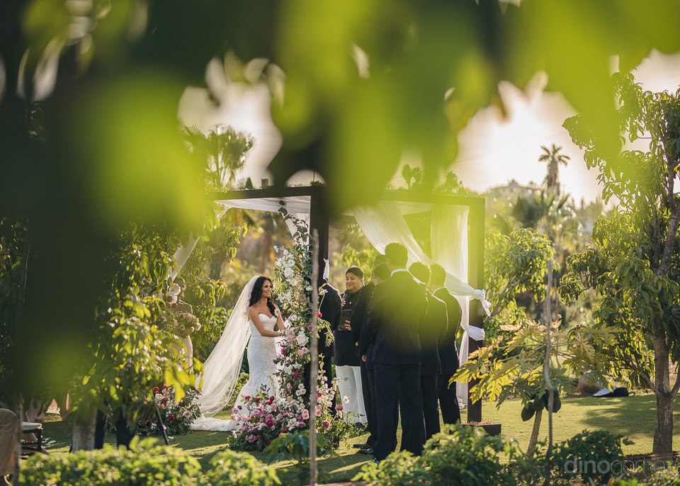 best outdoor destination wedding location flora farms cabo san l