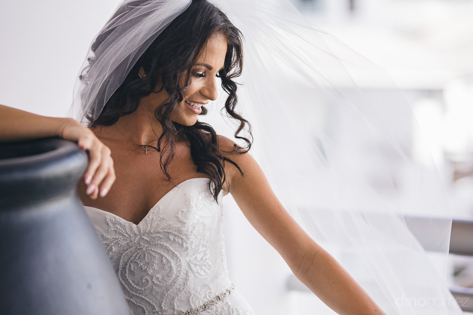 beautiful bride in professional wedding photo by cabo photograph