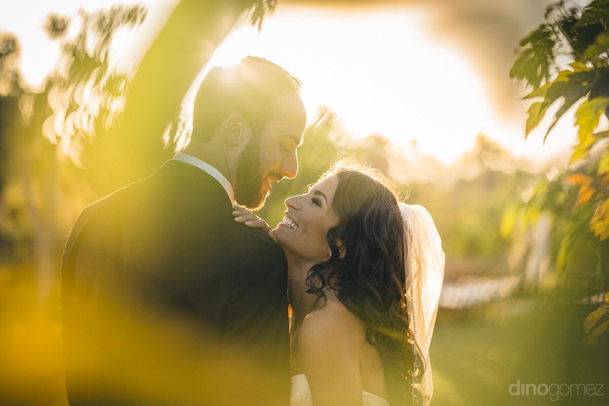Good Looking Newlyweds Together At Flora Farm Destination Weddin