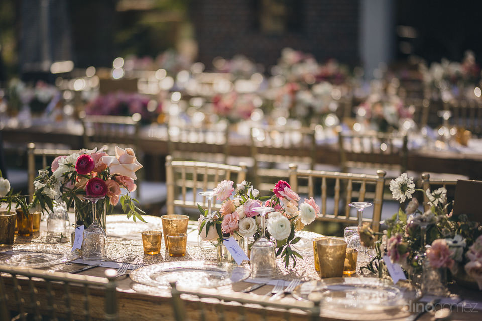 luxury wedding floral centerpieces by pina hernandez for destina