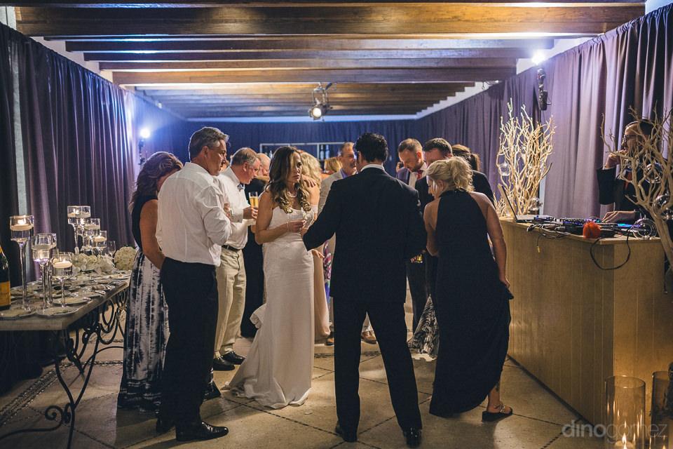 fun wedding reception at las ventanas hotel resort dino gomez ph