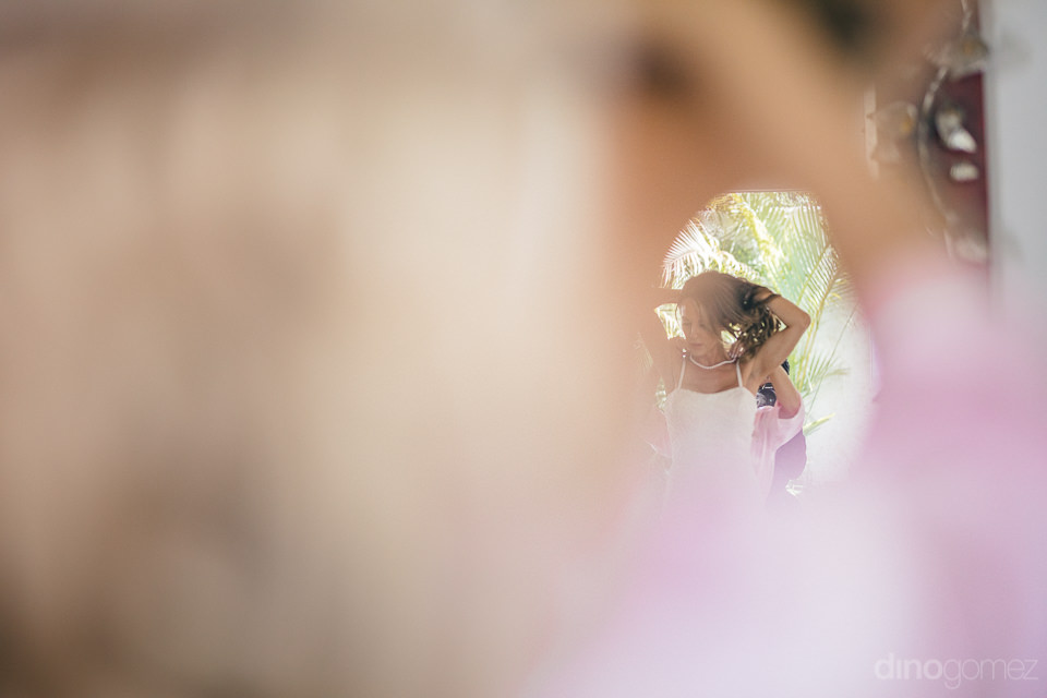 wedding photo by dino gomez artistic reflection photo of bride p