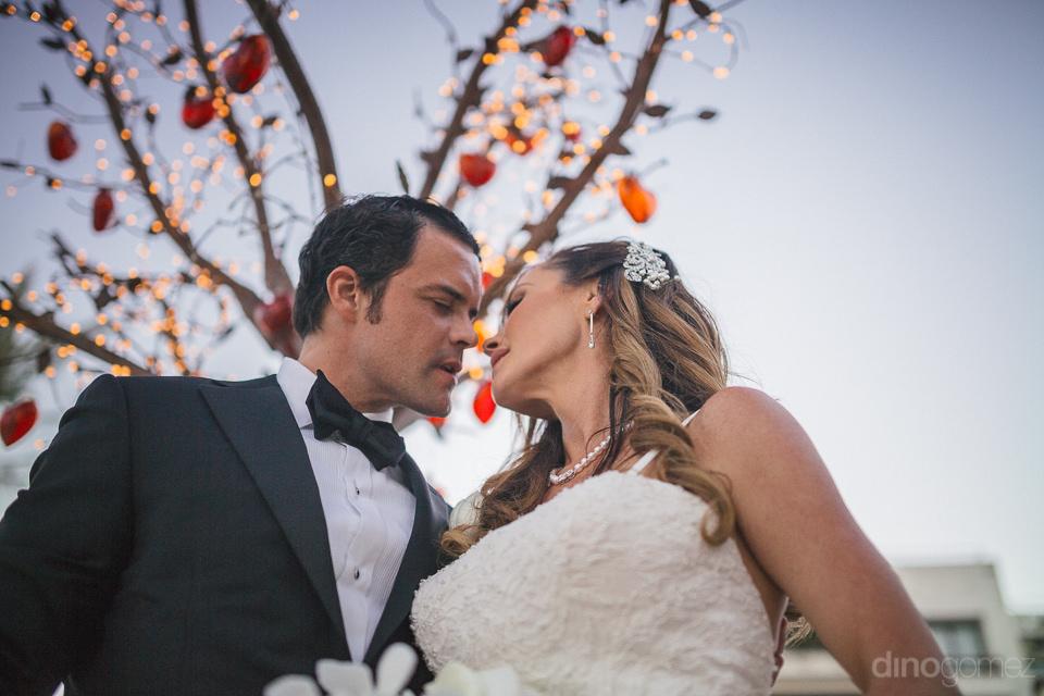 newlyweds in timeless wedding photo by dino gomez