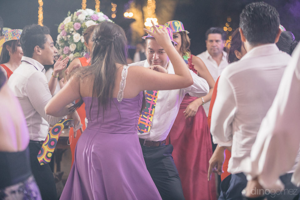 exciting party at mexican hacienda casasano photographed by phot