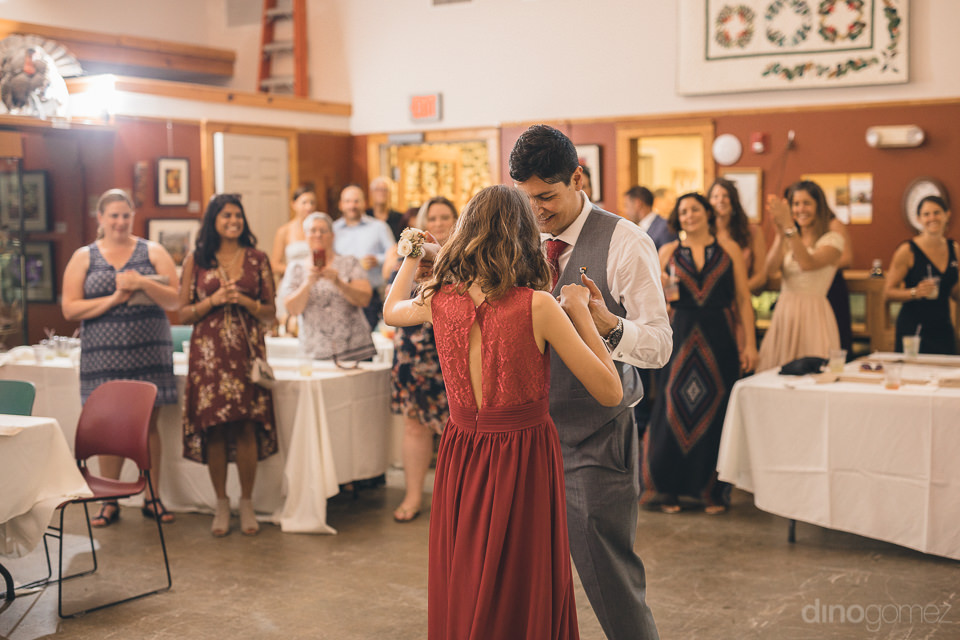 guests dance and have fun at new york wedding reception