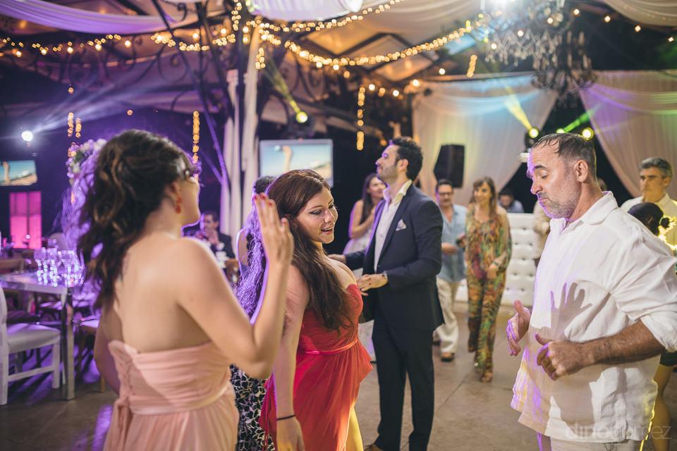 historic hacienda casasano wedding reception photographed by din