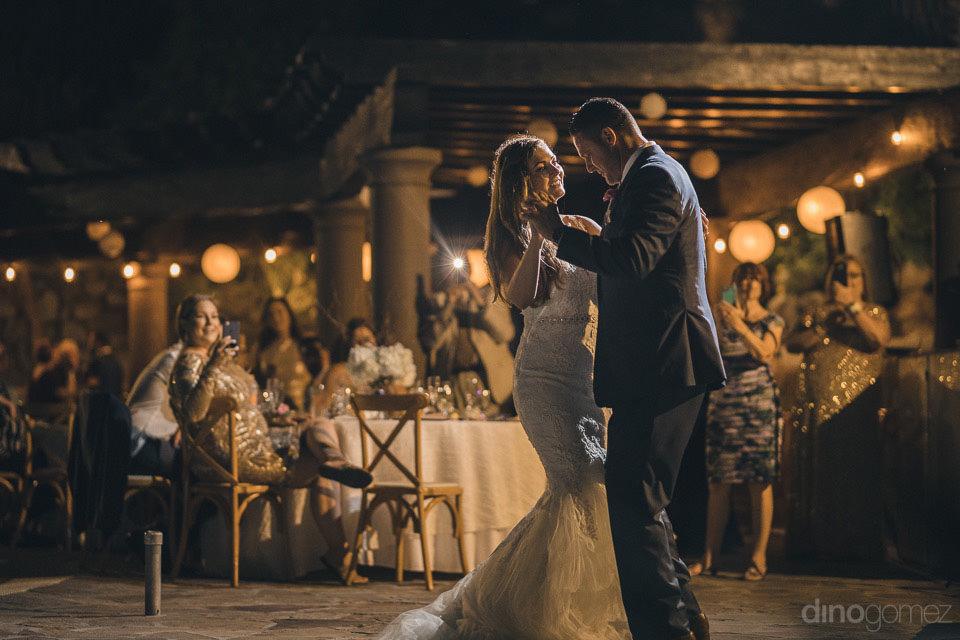 nightime wedding - Deirdre & Rob