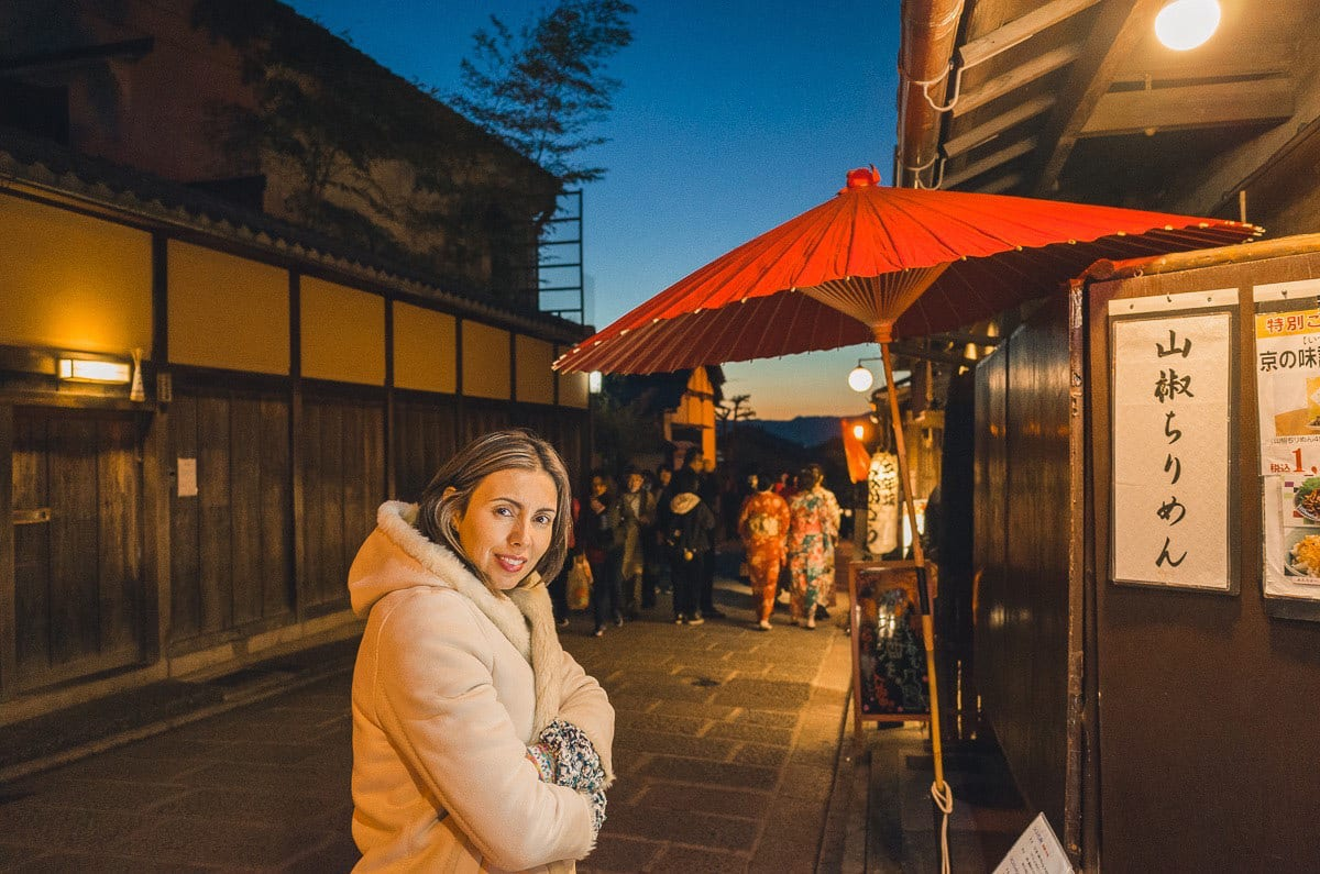 Kyoto's traditional streets
