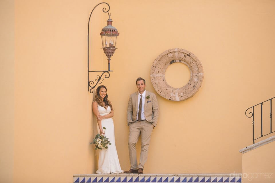 Bride and groom's portrait - Chiara & Jeremee