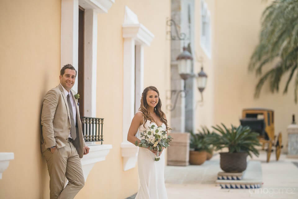 Seeing the photo of the bride and groom - Chiara & Jeremee