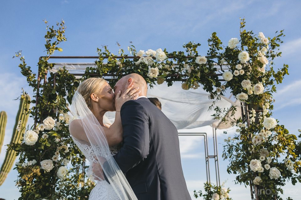 First Kiss Of The Bride And Groom - Megan & Andrew'S Wedding