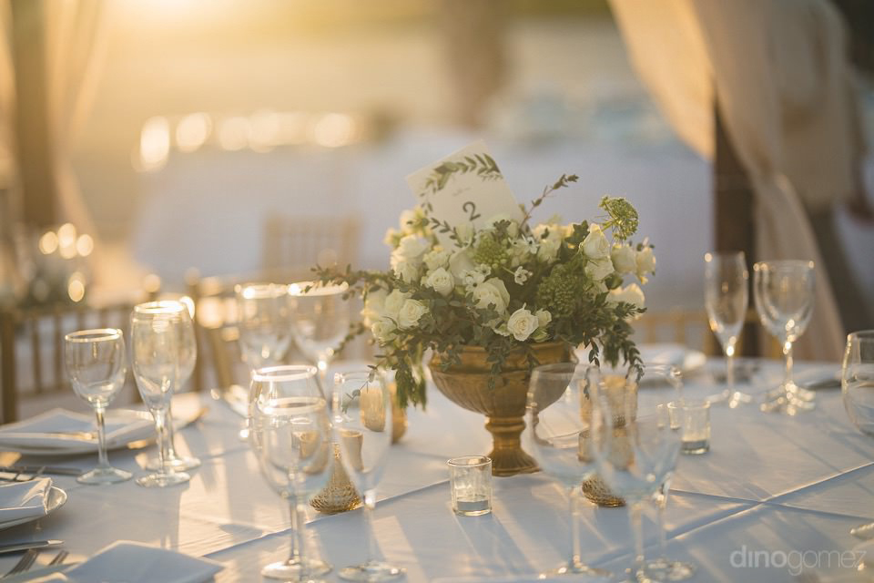 details of the dinner setup - Chiara & Jeremee