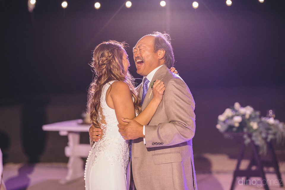bride and father dance - Chiara & Jeremee
