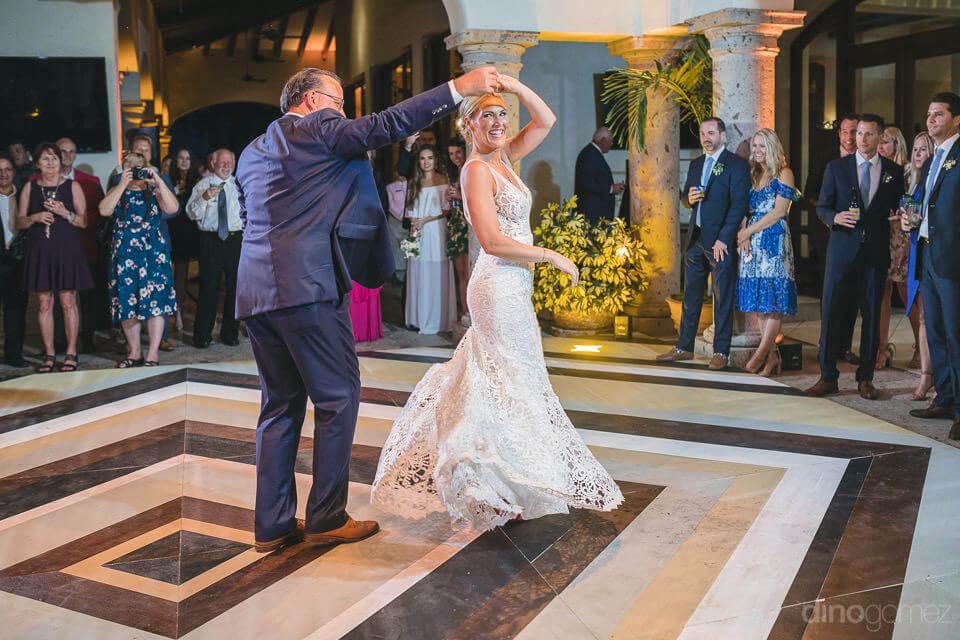 Spinning bride - Megan & Andrew's Wedding