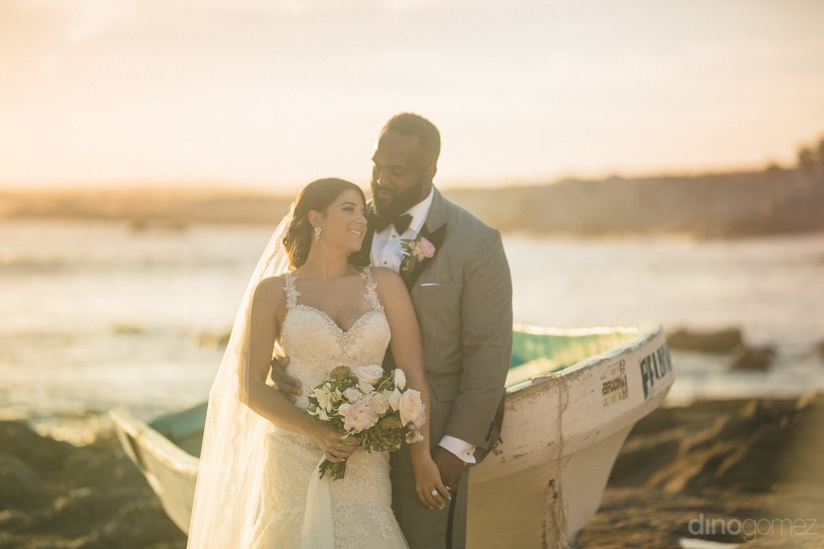 Romantic Photo Of The Newlyweds - Kimber & Julius' Warmsley Wedding