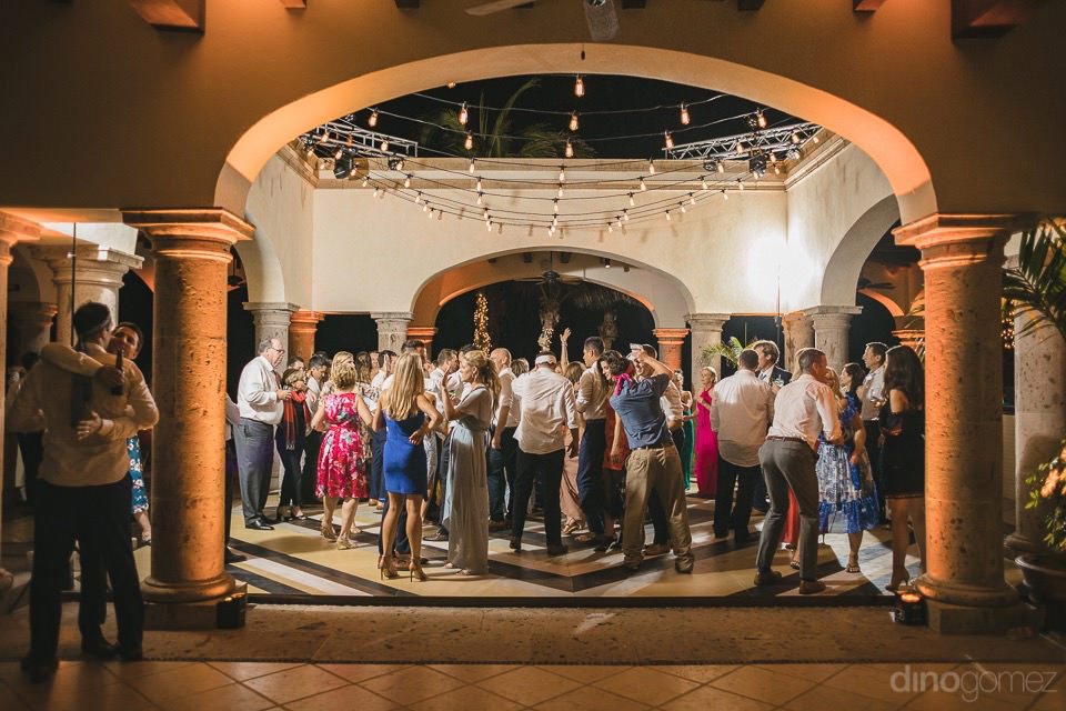 Nice picture of people dancing - Megan & Andrew's Wedding