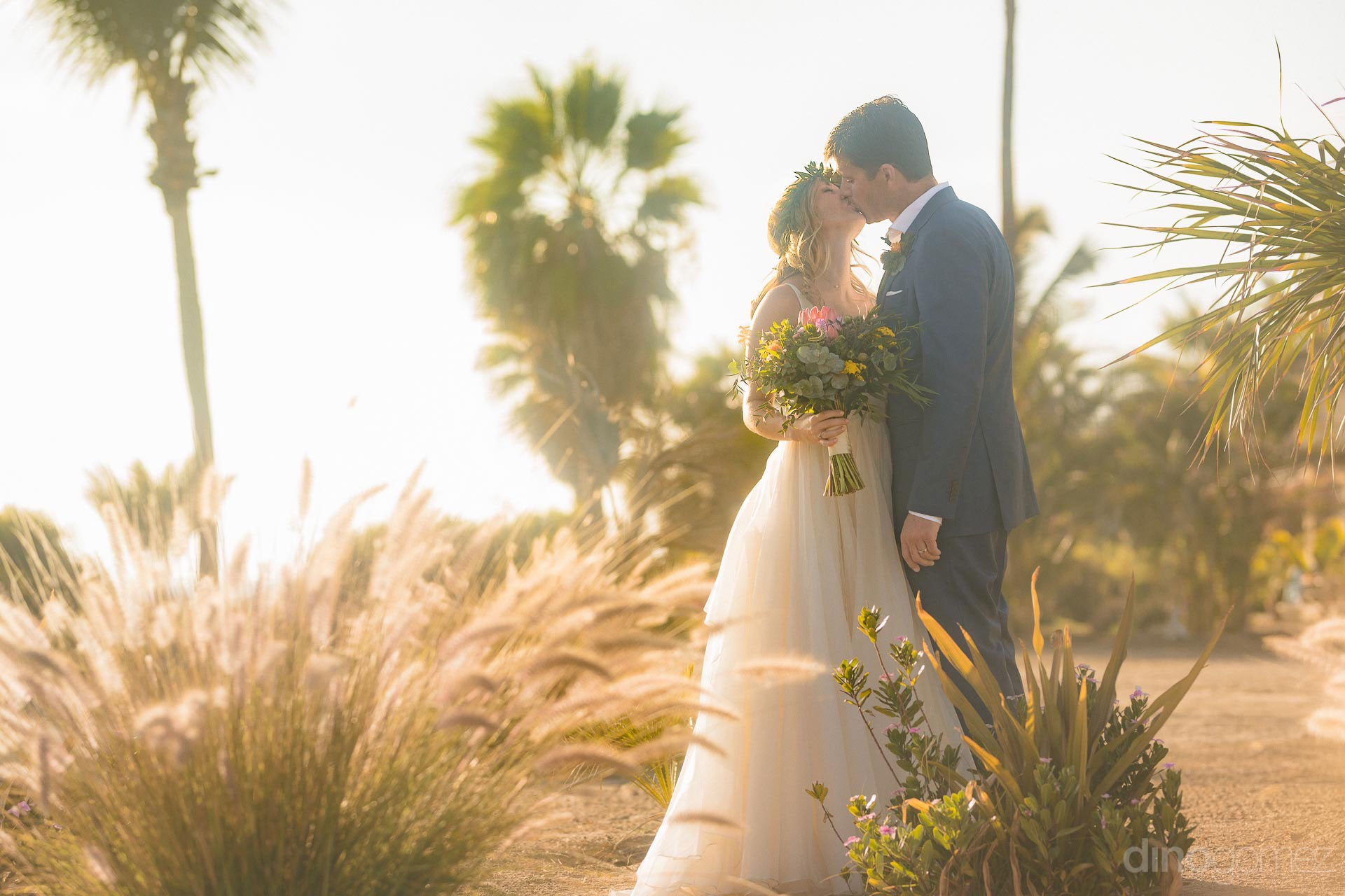 Main cover photograph of Rachel & Destin's wedding preview page