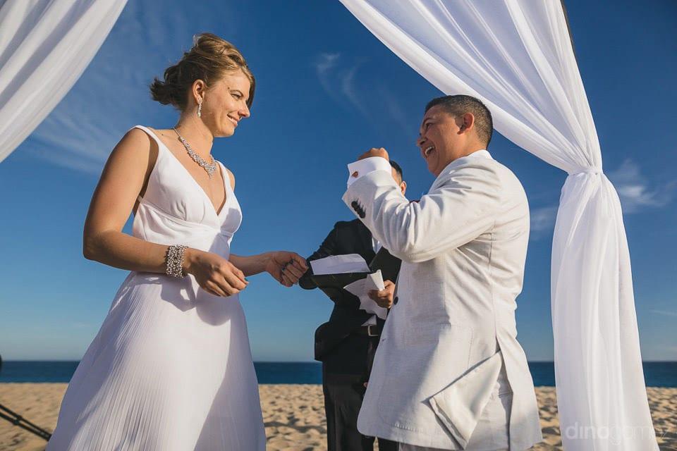 Lifetime wedding moment of the couple of Lindsay & Clark