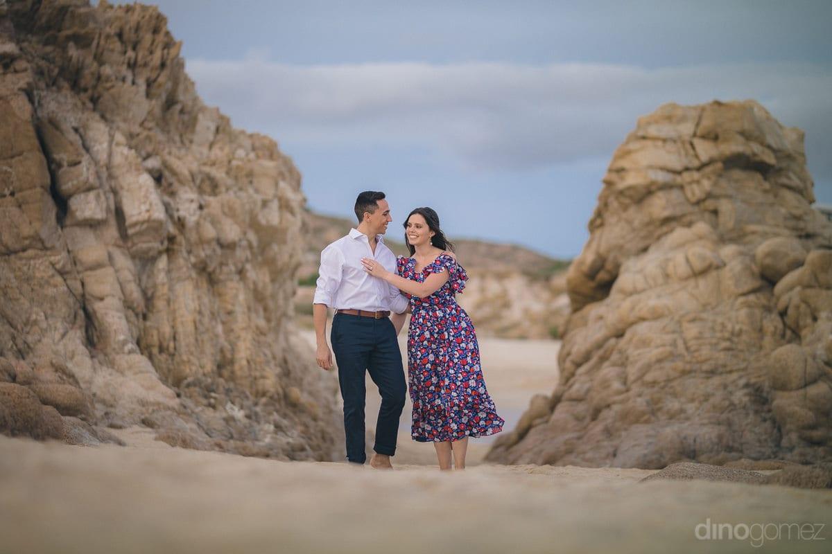 Cabo Photographer Dino Gomez Engagement Session - Julia & Mauricio