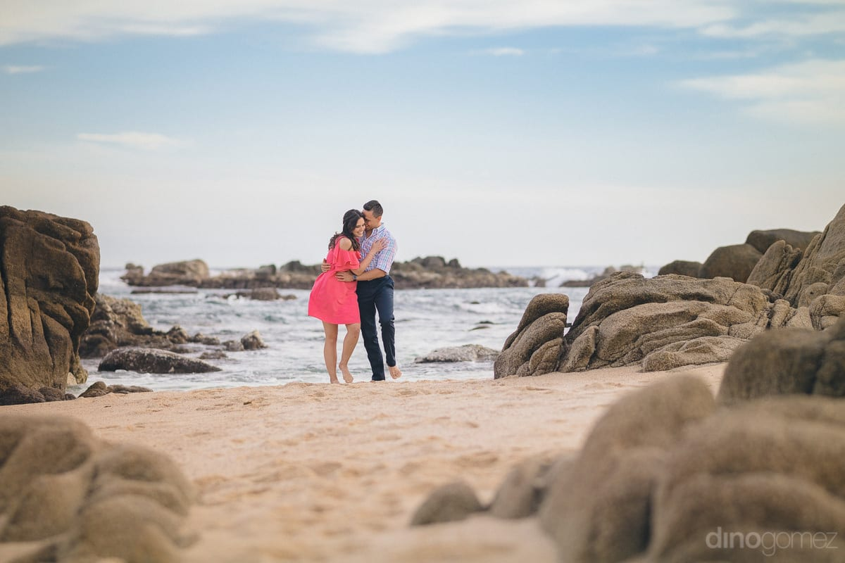Romantic Los Cabos Engagement Session Photographer - Julia & Mauricio