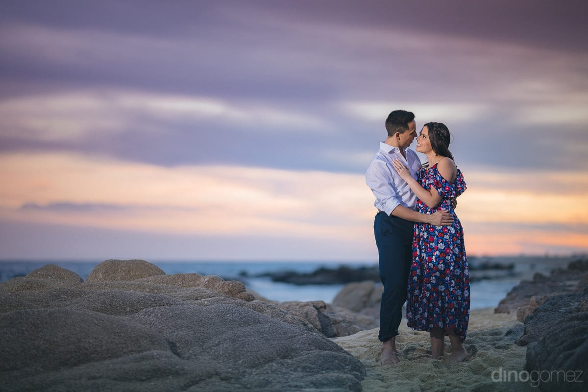 Sunset Engagement Session in Cabo - Julia & Mauricio