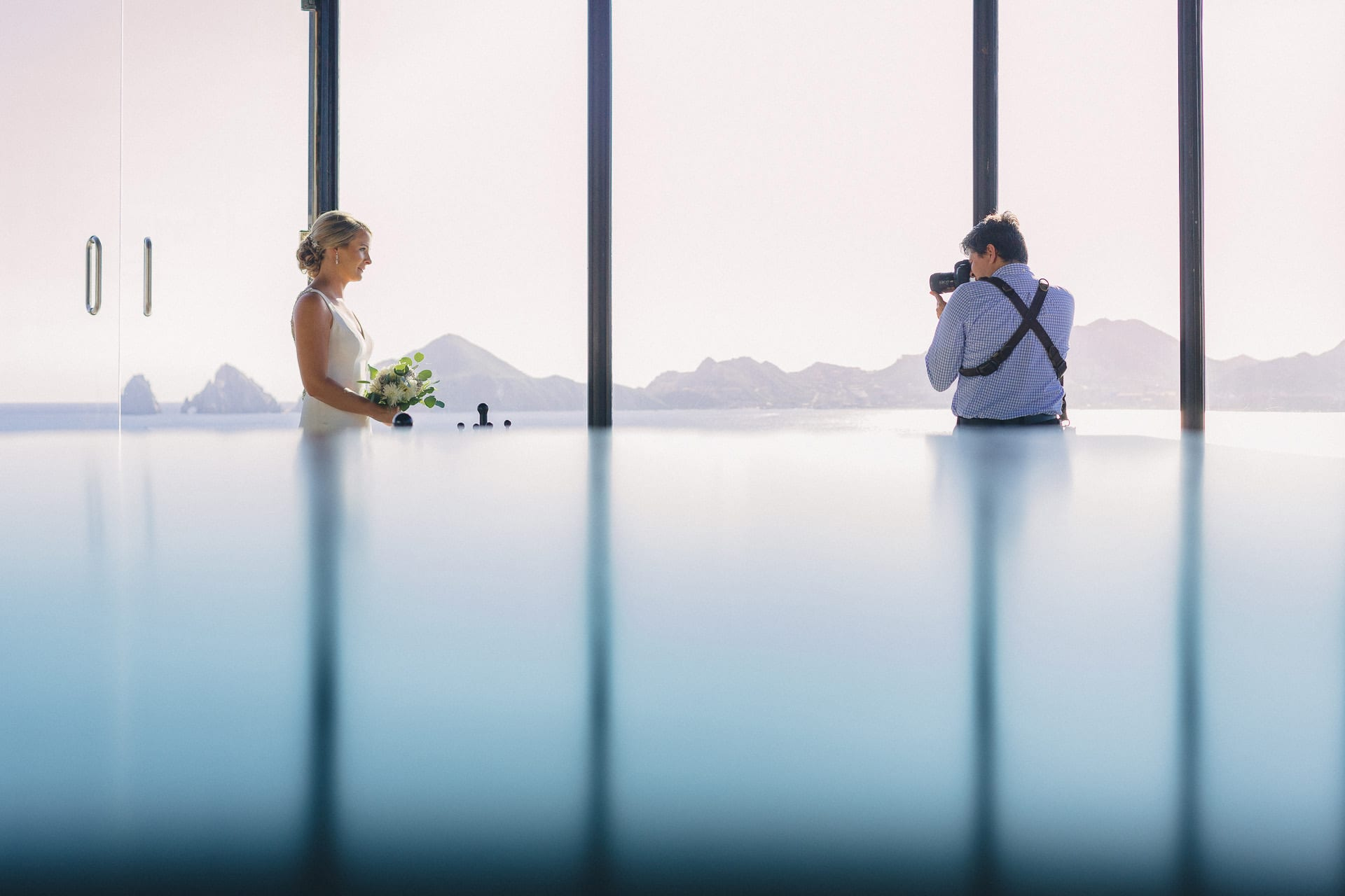 Local talent in Los Cabos Dino Gomez Wedding Photographer