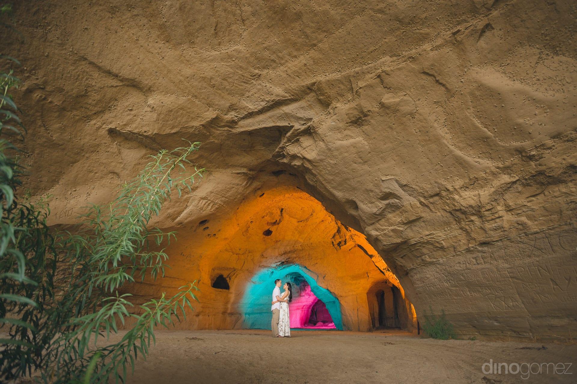 Unique locations in Baja like Las Cuevas found by Local Talents