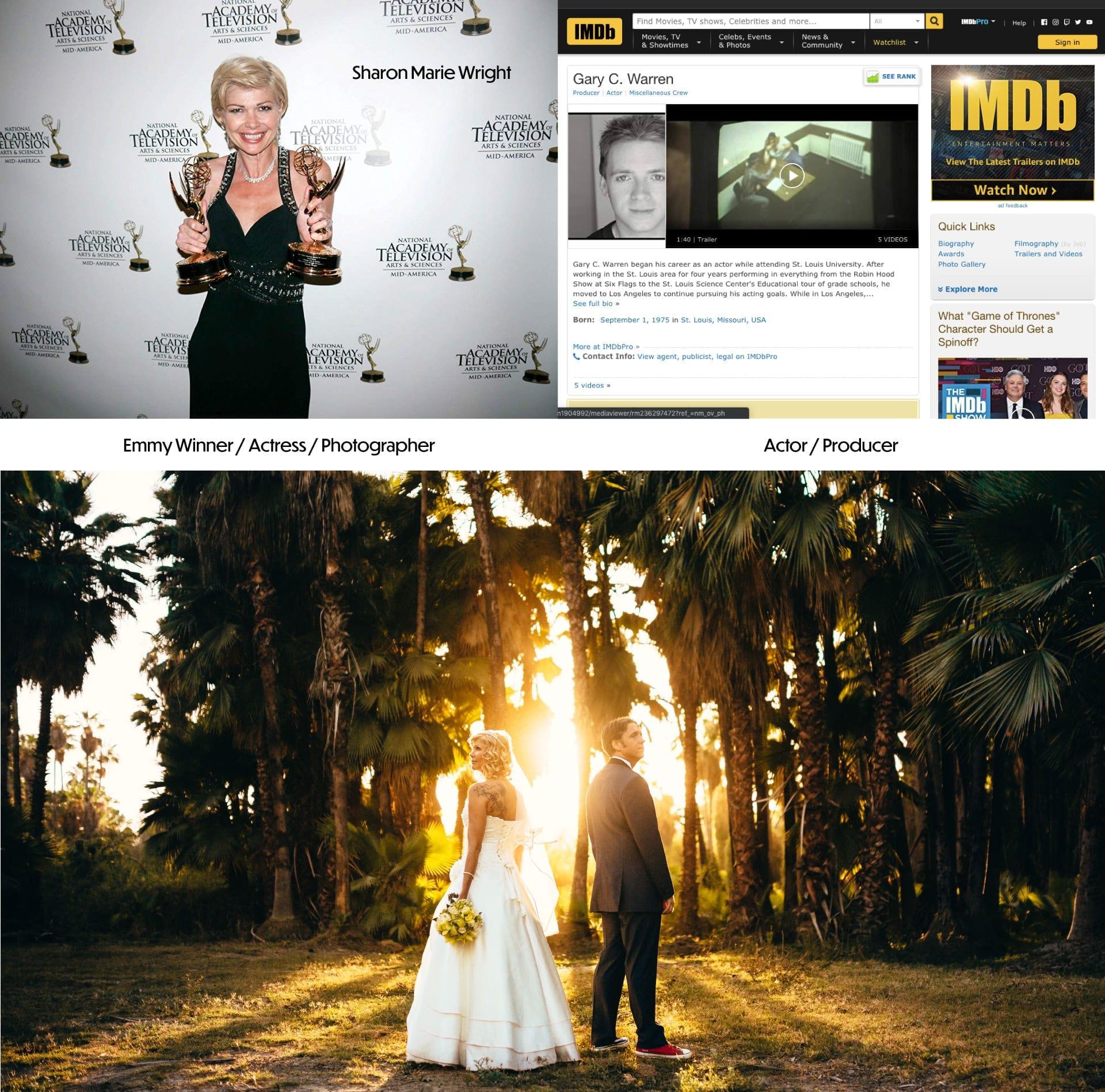 Fotografia de bodas especializada en Celebridades de Hollywood y en Colombia