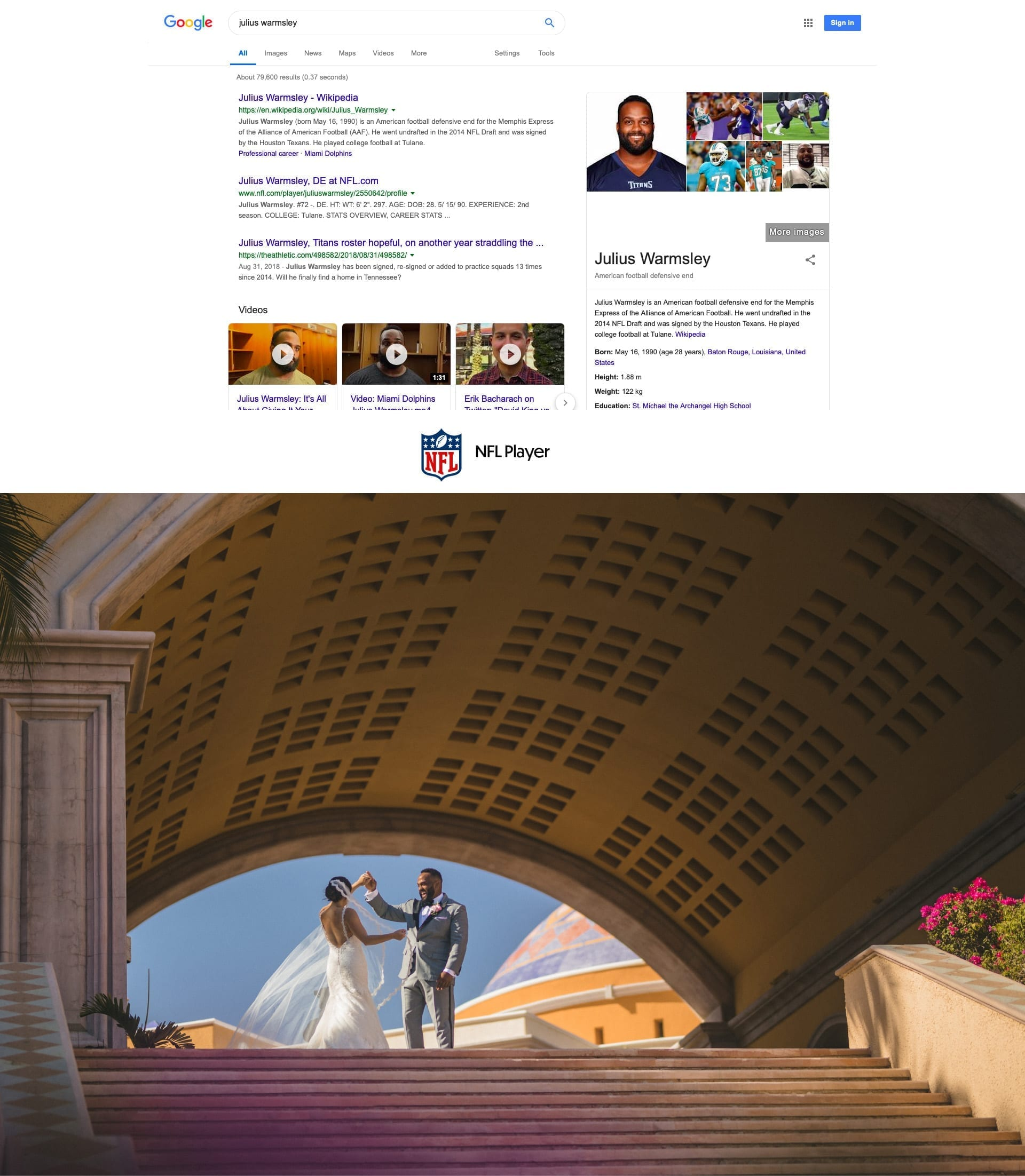 Nfl, Mba, Mlb Players Wedding Photographer In Los Cabos