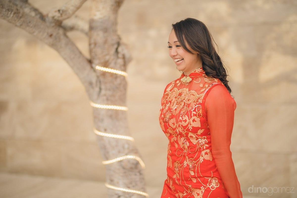 Vestido Tradicional Chino Para Bodas Ceremonia Del Te Colombia Ff