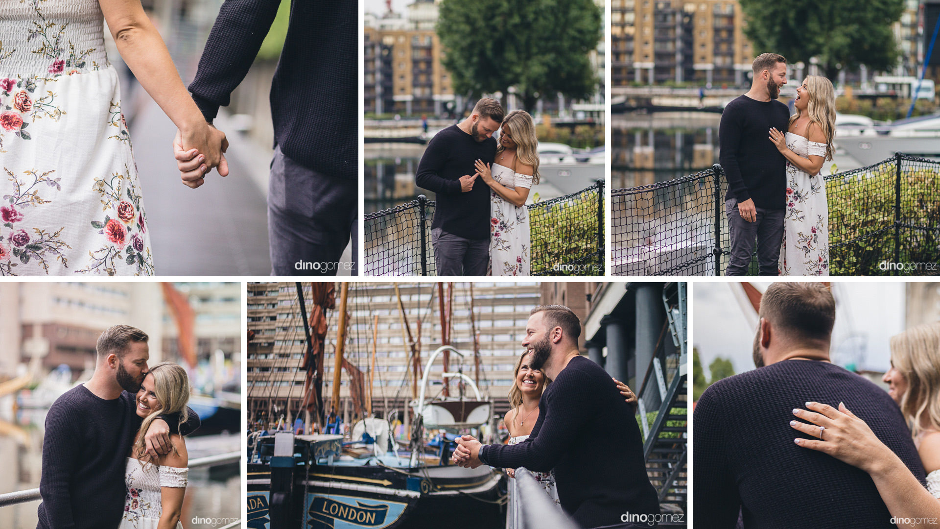 Engagement Session Photographer In London Tower Bridge And St Katharine'S Dock Photo Session - A+T-424