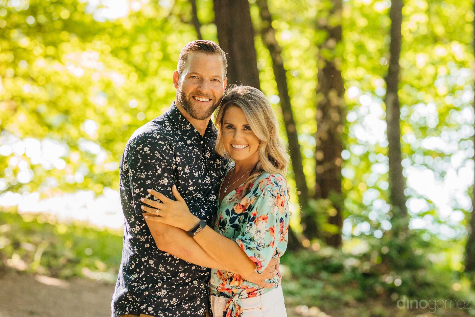 engagement session in Portland OR at Mt Tabor Park - A+T-101