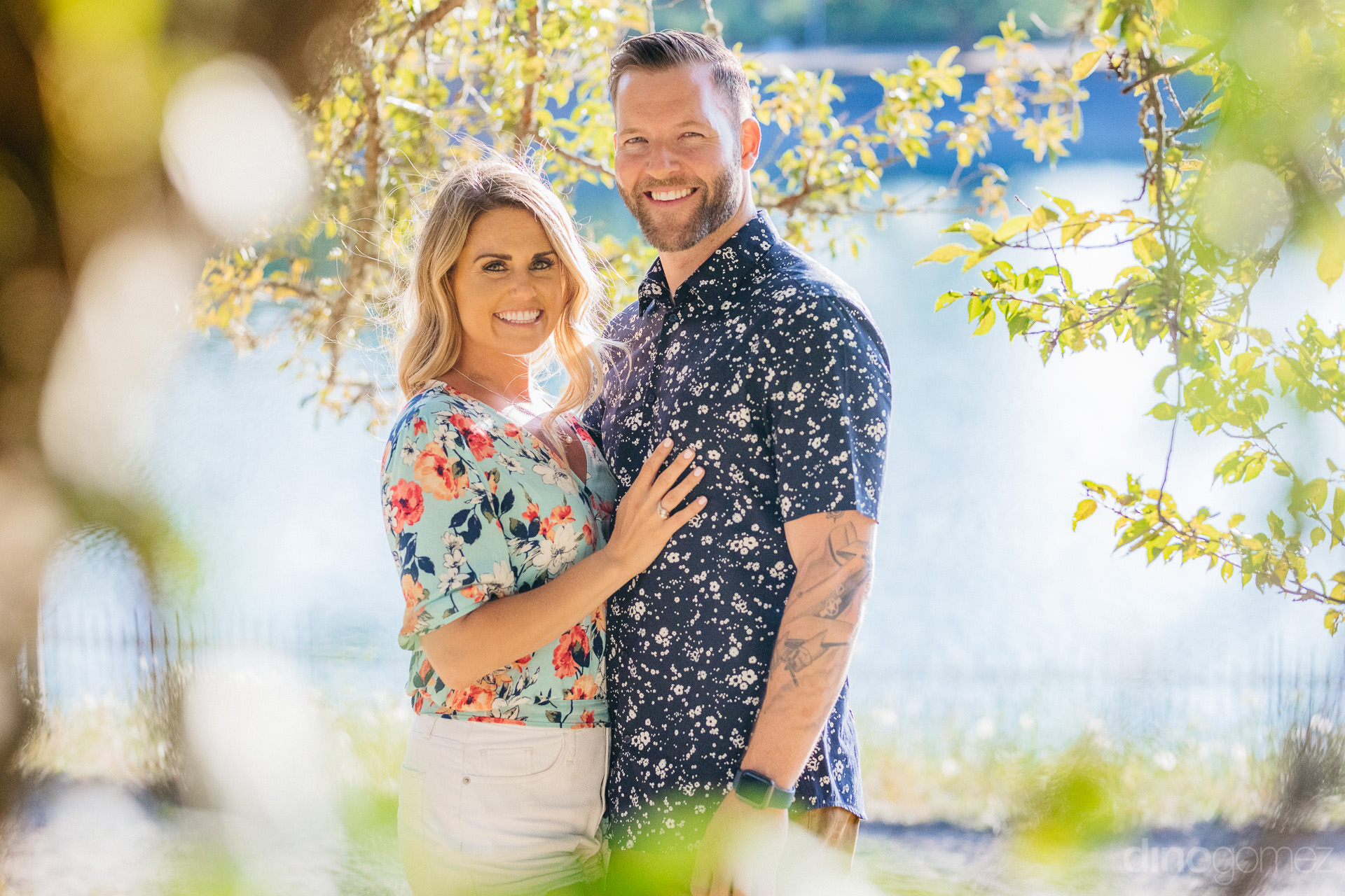 Engagement Session In Portland Or At Mt Tabor Park - A+T-103