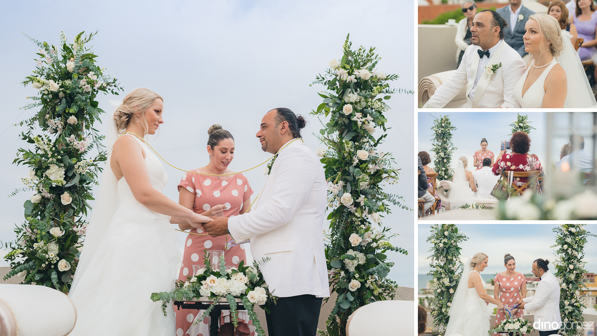 Luxury Wedding Ceremony At The Rooftop Hotel Bastion - St